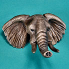 Elephant Bronze Drawer or Cabinet Pull